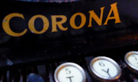 Corona 3 typewriter that A. Einstein used to write letter to president F.D Roosevelt.