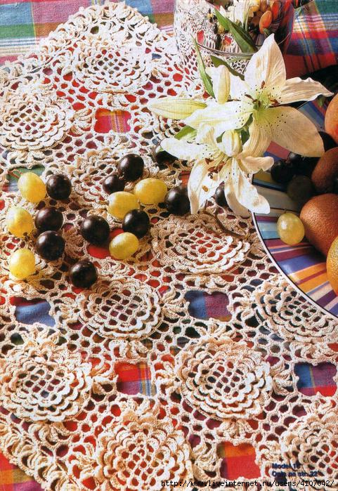 Ergahandmade Crochet Doily Diagrams Free Pattern