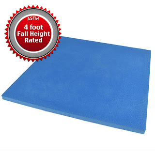 Greatmats outdoor kids safe floor Life Floor Super Grip Ripple Tiles
