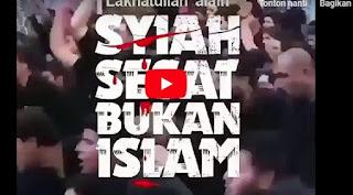 Syiah Sesat Bukan Islam [Video]