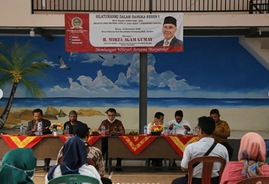 Aspirasi Warga Ciranjang - Cianjur,  Agam Respon Positif Peningkatan Sapras PAUD & Desa Wisata