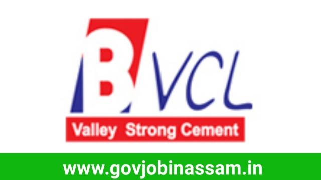 Barak Valley Cements Ltd Recruitment 2018