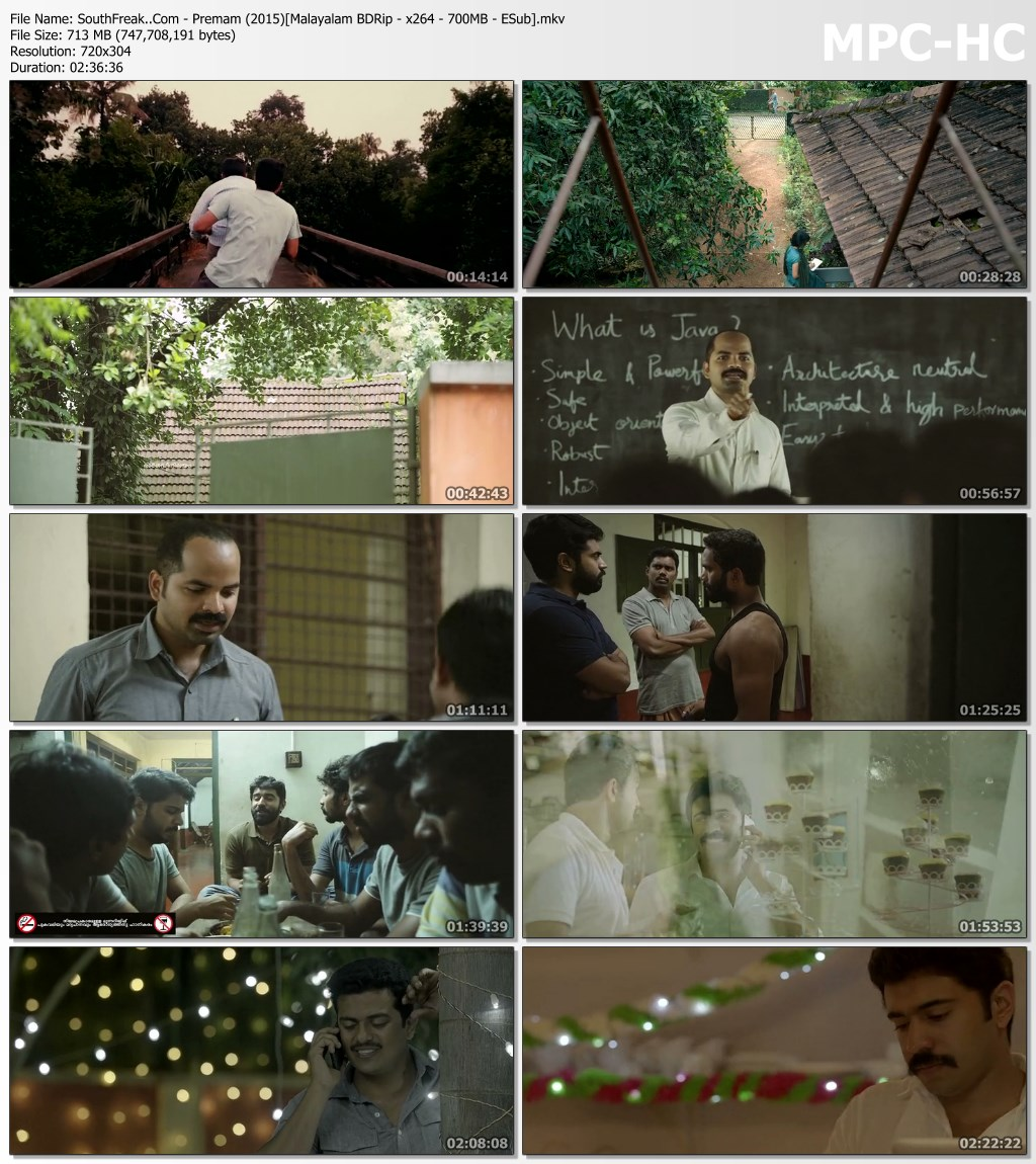 Premam 2015 Malayalam Download