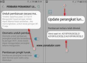 Cara Update Android Ke Versi Terbaru Otomatis