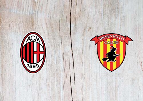 Milan vs Benevento -Highlights 01 May 2021