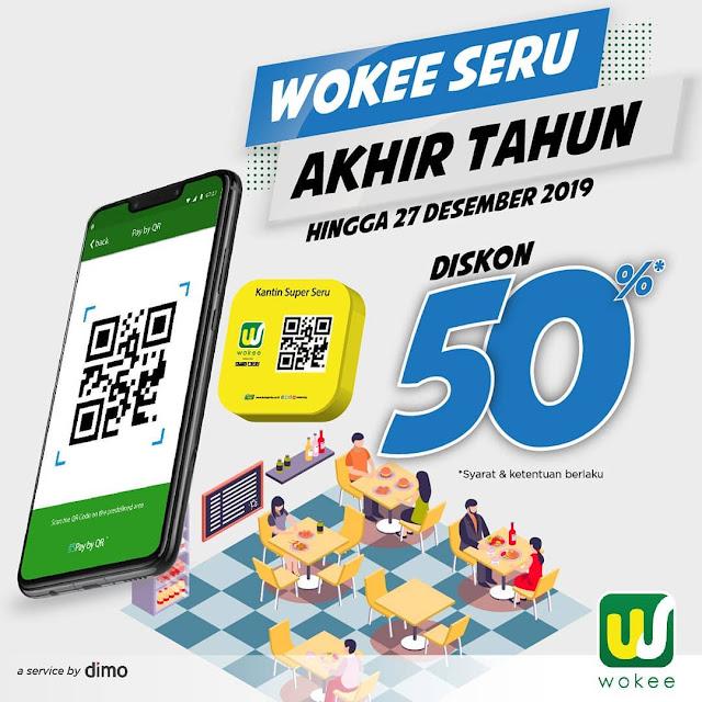 #Wokee - #Promo Wokee Seru Akhir Tahun DIskon 50% Hingga 27 Desember 2019