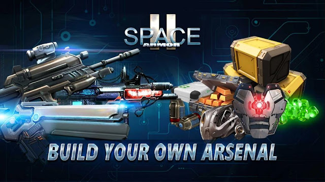 Space Armor 2 Apk+Mod Data [Unlimited Money/Gems]