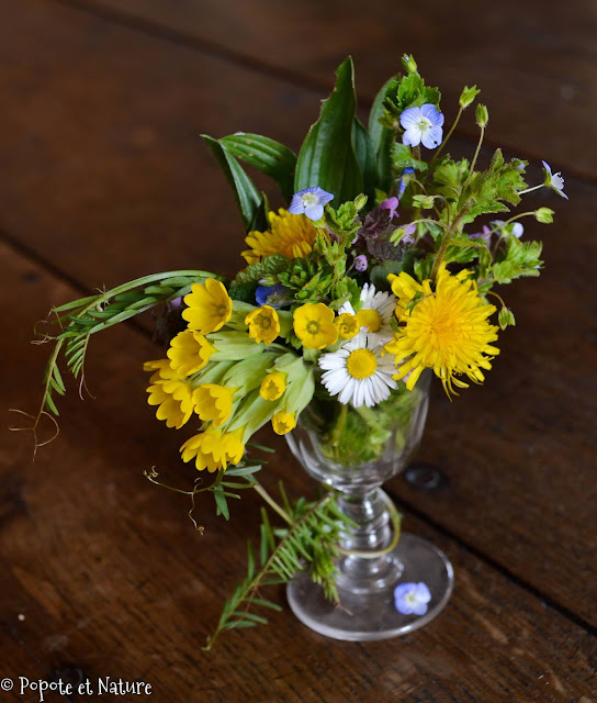 bouquet champêtre © Popote et Nature