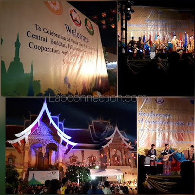 Vesakabusa Day Celebrations in Vientiane
