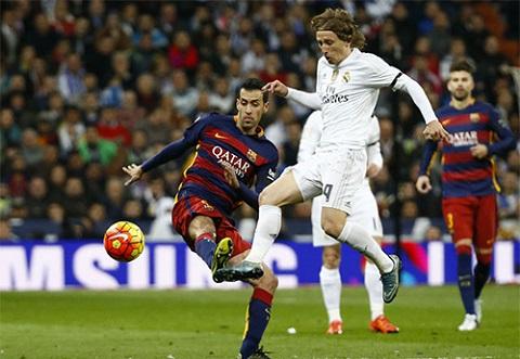 Luka Modric là bộ não quan trọng của đội bóng