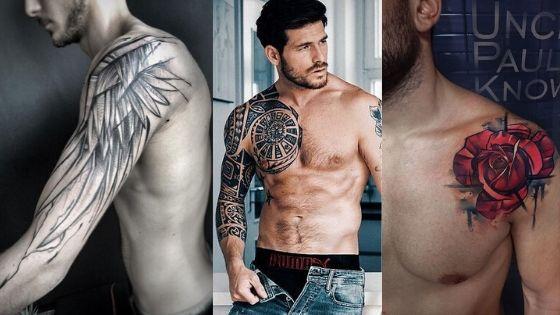 60+ Top Best Looking Shoulder Tattoos for Men 2020 - Tatoosdesign.com
