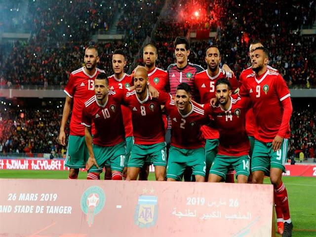 تعرف علي التشكيل الرسمي للمنتخب المغربي أمام ساحل العاج بأمم أفريقيا