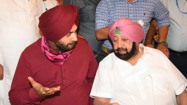 Punjab: Captain Amarinder Singh and Navjot Singh Sidhu finally meet as latter assumes charge