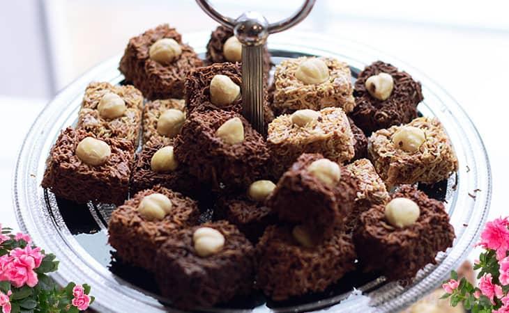 çikolatalı kadayıf küpleri, topları nasıl yapılır evde, kolay kahve molası küpleri tarifi - www.kahvekafe.net