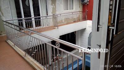 Daftar Harga Railing Balkon Stainless Minimalis, Railing Kaca, Railing Klasik, Railing Akrilik dan Handrail Tangga [ Harga Update Mei 2021 ]
