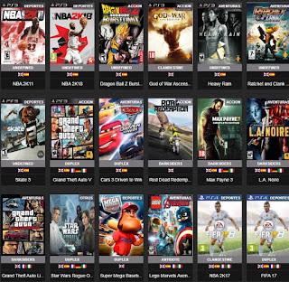 PS3 GAMES تحميل