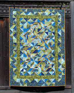 USE IT UP-STRIP QUILT-ACCENT ON ANGLES