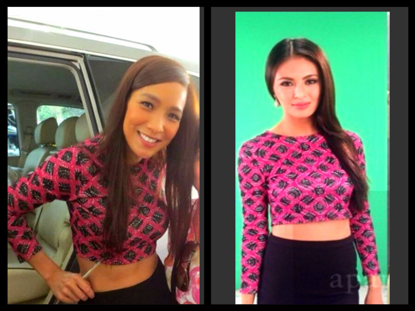 Angeline Quinto Sex Scandal fashion pulis: who wore it better: pia guanio vs sam pinto
