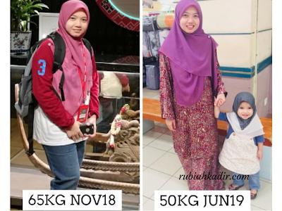 Testimoni Set Kurus Shaklee - Berat Susut 15kg