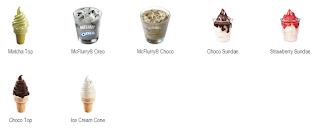 menu mcdonald terbaik