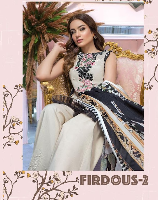 Deepsy Firdous vol 2 Cotton pakistani Suits