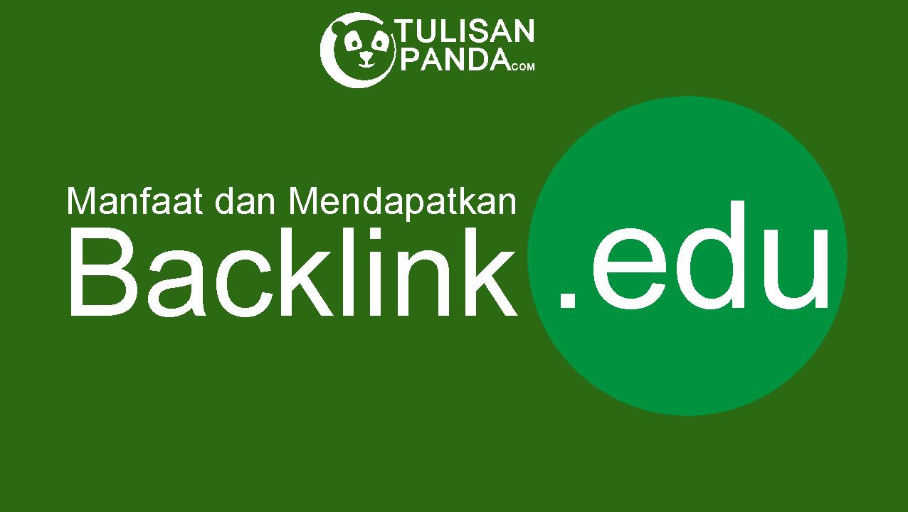 cara mendapatkan backlink edu gratis