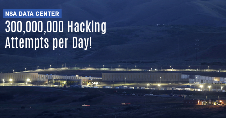 NSA Data Center Experiencing 300 Million Hacking Attempts Per Day