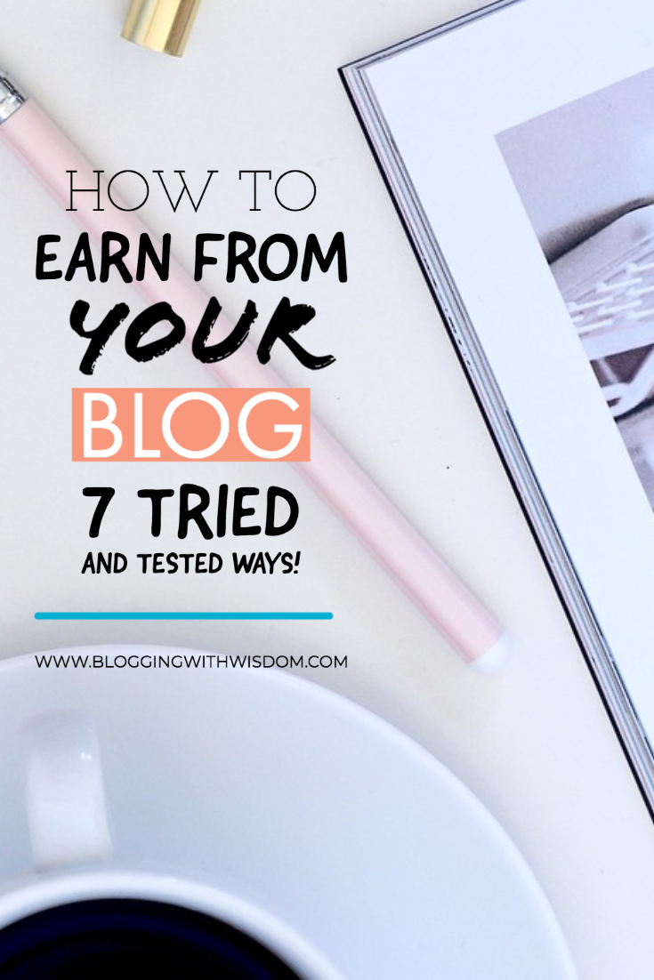 practical ways bloggers earn an income from their blogs BWW