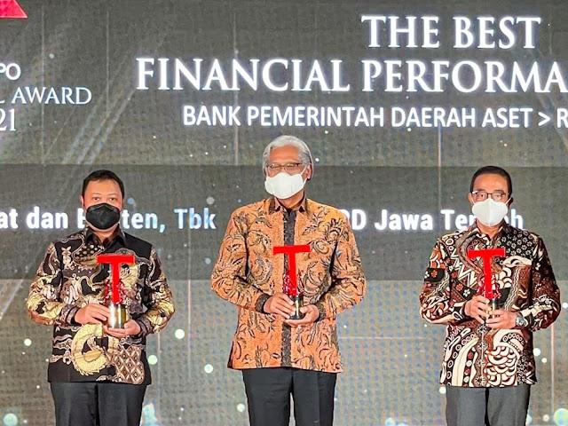 bank bjb Raih Penghargaan The Best Financial Performance Bank di TEMPO Financial Award 2021