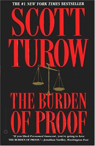 Caroline Bookbinder Book Review The Burden of Proof by Scott Turow - presumed innocent book