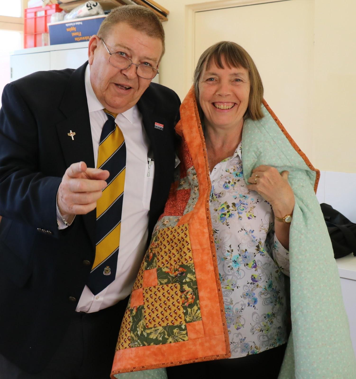 Fairholme Quilters: Quilts of Valour Australia visit and quilt ... : quilts of valour australia - Adamdwight.com