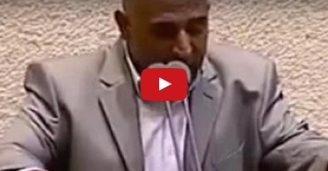 VIDEO: Israel Buat Larangan Adzan Di Palestina, Pria Ini Justru Kumandangkan Adzan Di Parlemen Israel