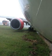 Lion Air Boeing 737 skids runway due to heavy rain in Indonesia - Aero World