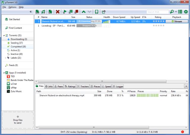 تحميل برنامج التورنت 2018 عربي للكمبيوتر - uTorrent مجانا