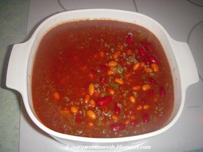 Margaret's Morsels | Crock-Pot Chili