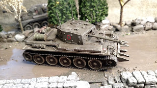 British 11th Armoured Division Cromwell