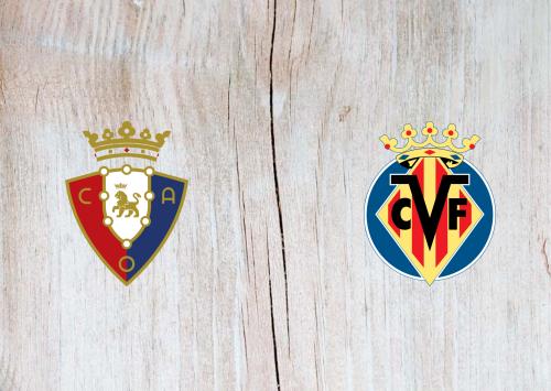 Osasuna vs Villarreal -Highlights 19 December 2020