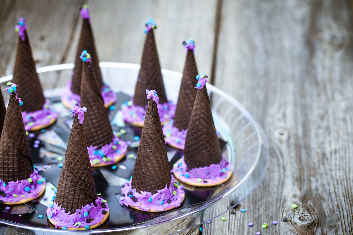 Sombreros de bruja comestibles