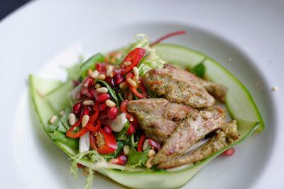 Restaurant Pegasus Duck salad