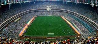 ملعب آزتيكا بالعاصمة المكسيكية (مكسيكو سيتى)