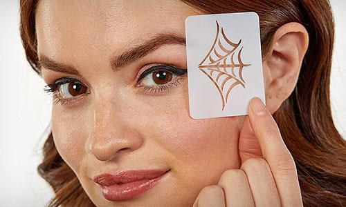 Plantillas de maquillaje para Halloween
