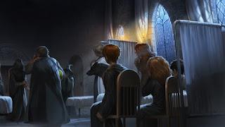 Severus Piton mostra il suo Marchio Nero dopo la rinascita di Voldemort