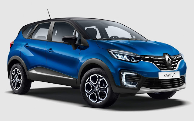 Novo Renault Captur 2021 (facelift): fotos e detalhes oficiais