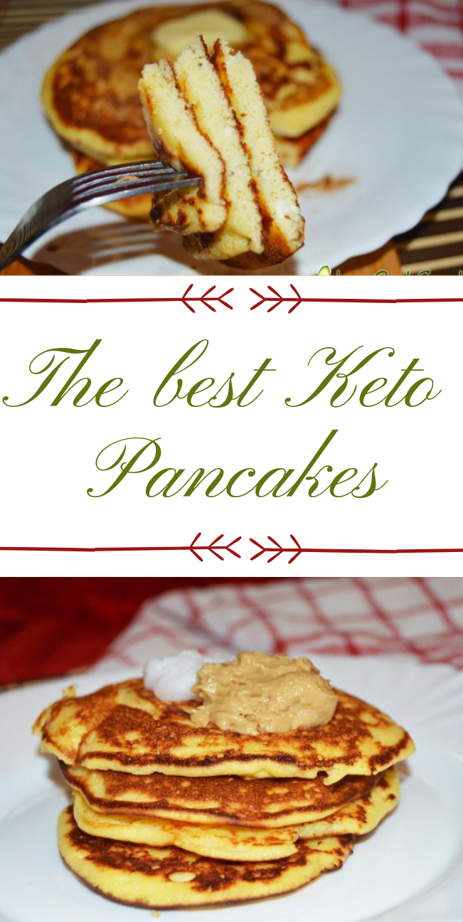 The best Keto Pancakes #diet #keto