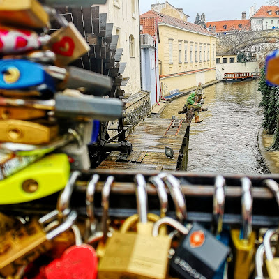 Lovers Bridge Prague what claire did travel blog