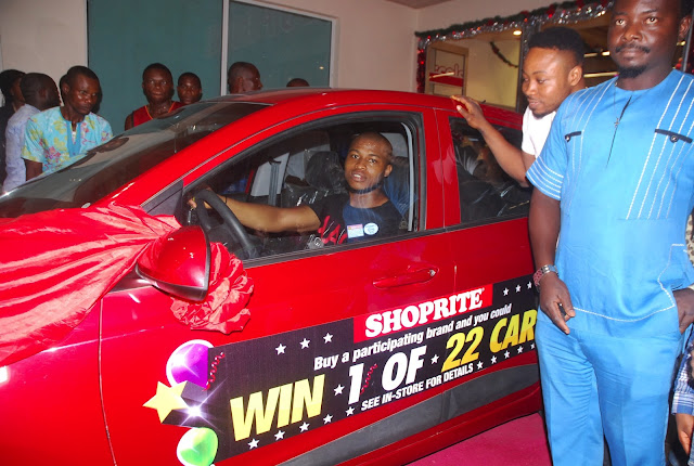 Shoprite celebrates 22 winners of brand new cars