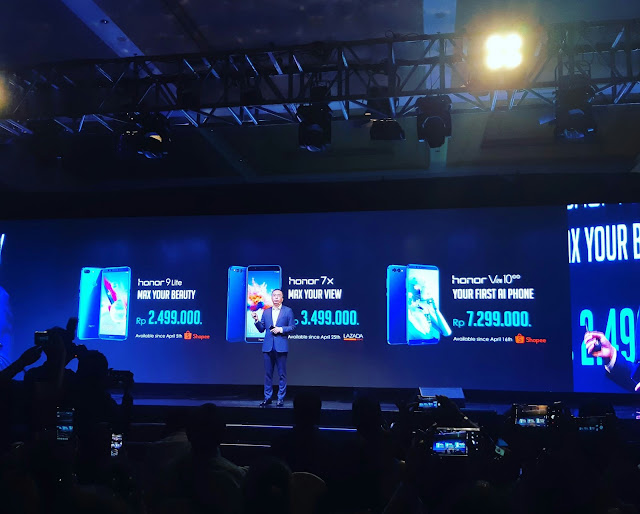 Harga HP Honor Mobile Indonesia