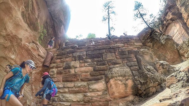 Walters Wiggles Angel's Landing hike