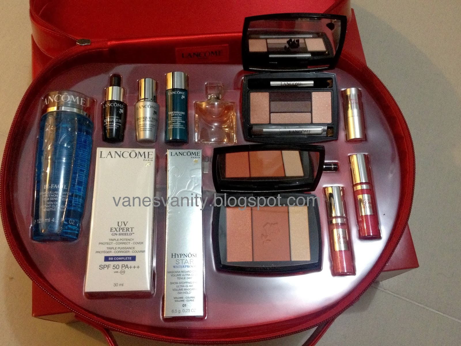 A Vane S Vanity Lancome Holiday 2013 Beauty Set Limited