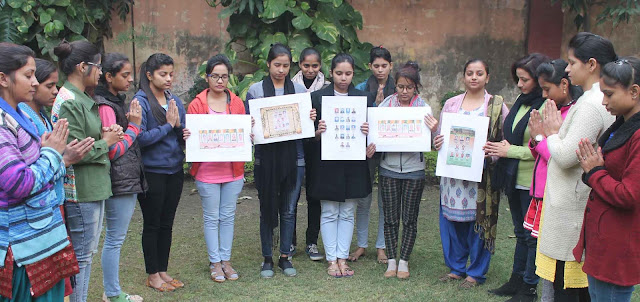 Girls of Khajani Women's College gave martyrs to martyrs